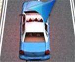3D Polis Arabası Park Et Oyunu