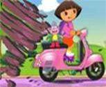 Dora Tehlikeli Motor Oyunu