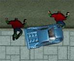 GTA İnsanları Ezme Görevi Oyunu
