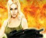 Kadın Komando 3D Oyunu