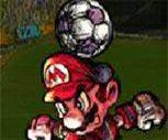 Mario Kafa Topu Oyunu
