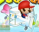 Süper Mario Uçak Savaşı Oyunu