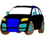 Audi Q7 Boyama