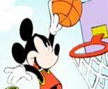 Basketçi Mickey Mouse