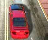Kırmızı Araba 3D Oyunu