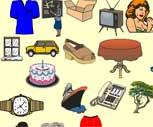 İngilizce Resimli Sesli Sözlük Oyunu