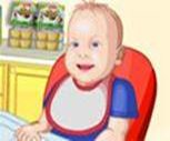 Türkçe Bebek Besle Oyunu